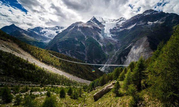 Átadták a világ leghosszabb függőhídját Svájcban