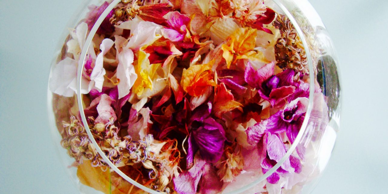 A legszebb csináld magad dekor, szárított virágokból