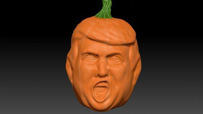 Snassz a sütőtököd? Legyen belőle Trump!