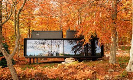 Csodaház vár egy svéd tó partján