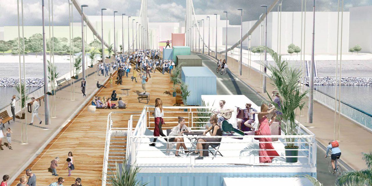 Ilyen lenne az autók nélküli Rákóczi út és forgalom elől lezárt Erzsébet-híd