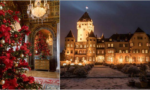 Királyi karácsonyok Európában. Családi körben, kastélyban.