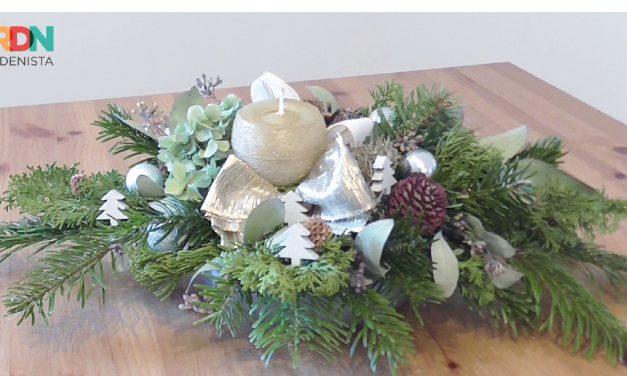 Így készíthetsz karácsonyi asztaldíszt, olcsón, magadnak