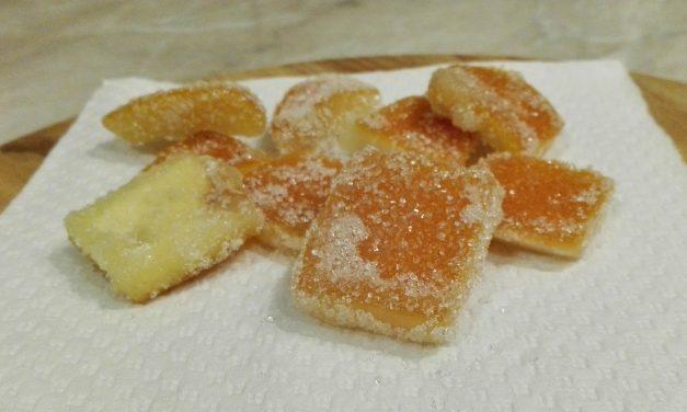 Így készül a kandírozott narancs