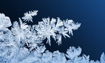 Így keletkezik a tél csodája, a jégvirág