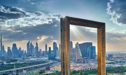 A világ legnagyobb képkerete nyílik Dubajban