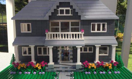 Szeretne egy tökéletes miniatűr másolatot a házáról, ráadásul legóból?