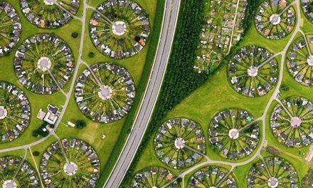 Csodálatos mandalaépítészet Dániából