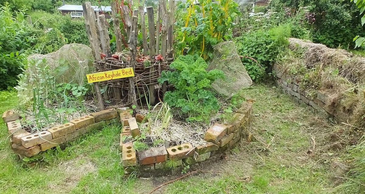 Komposztáló és veteményes egyben: építsünk kulcslyuk kertet!