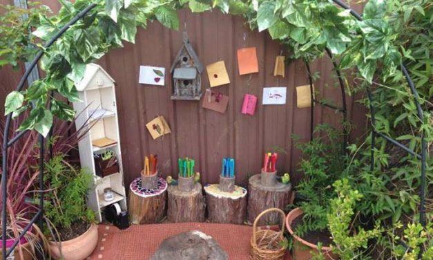 Egy ilyen kertből mégis hogy lehet bekönyörögni a gyereket?