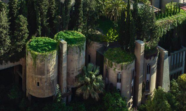 Romos cementgyárból készült az építész mesebeli háza