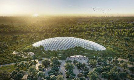 A világ legnagyobb egykupolás trópusi üvegházát tervezik Franciaországban
