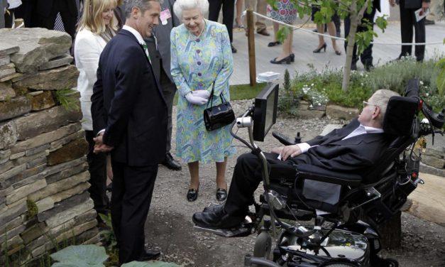 A kertészek is búcsúznak Stephen Hawkingtól