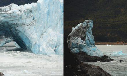 Megszívatta a turistákat a patagóniai gleccser jéghídja