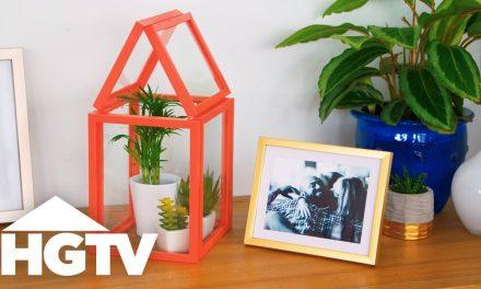 Készítsünk felesleges képkeretekből mini üvegházat!