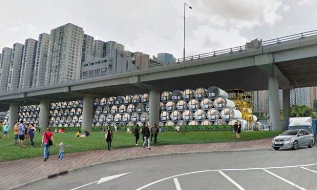 Betoncsőből készült apartmanok oldhatják meg a kínai lakhatási válságot