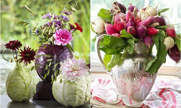 Zöldségekből is készülhet húsvéti asztaldísz