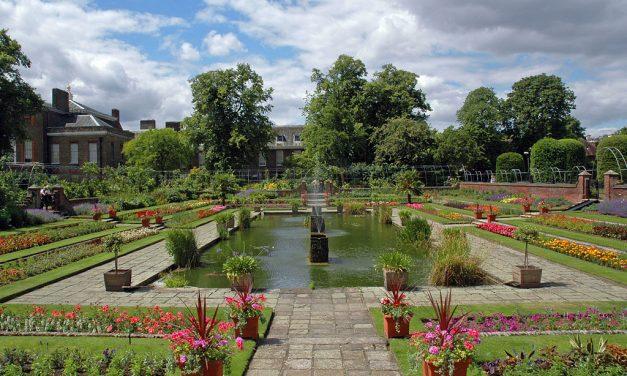 Itt másznak fára a brit trónörökösök: a Kensington Palota kertje