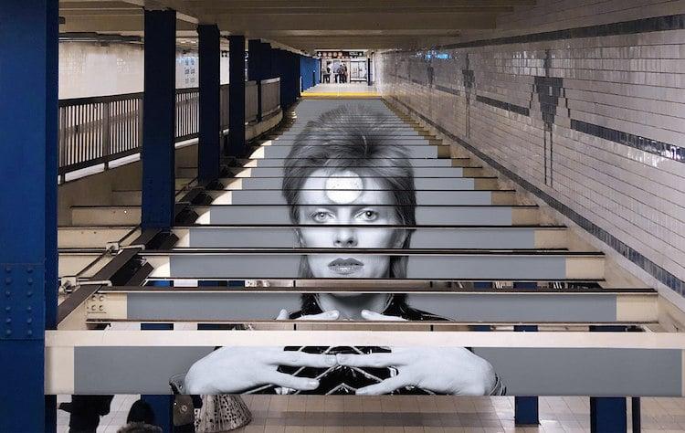 Nagyon menő David Bowie metróállomás épült New Yorkban