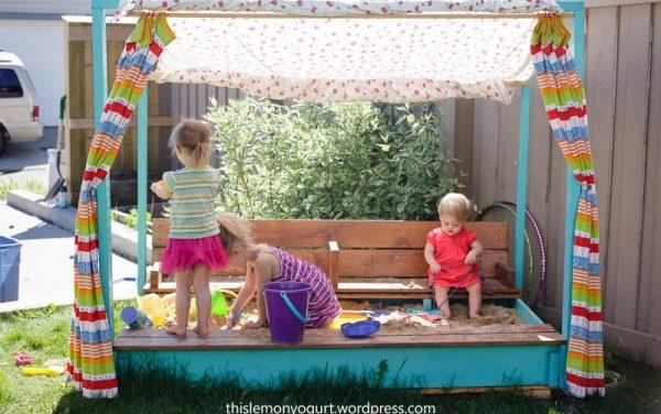 A kerti játékok királya: a homokozó