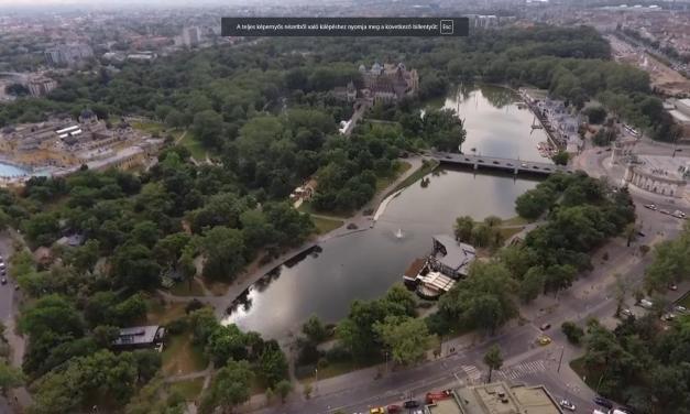 Újra tiszta és friss a víz a városligeti Felső-tóban