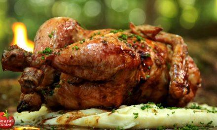 Gyönyörű film egy lógatva megsütött csirkéről