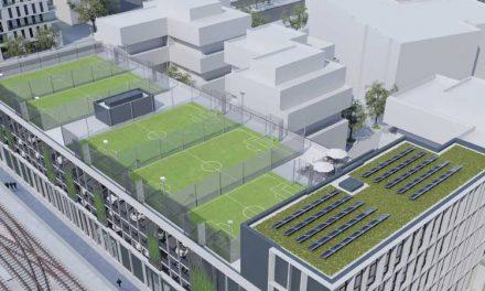 Jövőre már a tetőn focizhatnak a bécsiek