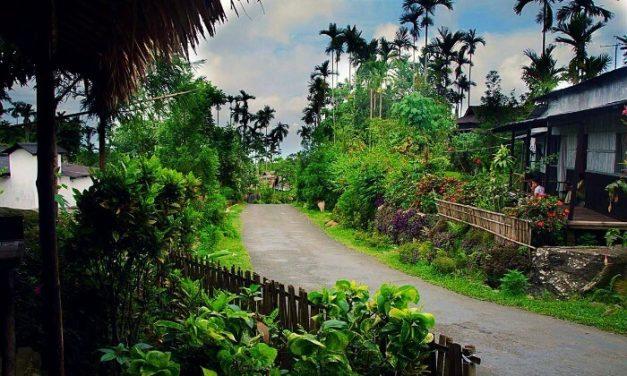 Ázsia legtisztább falujában nincs szemét az utcán