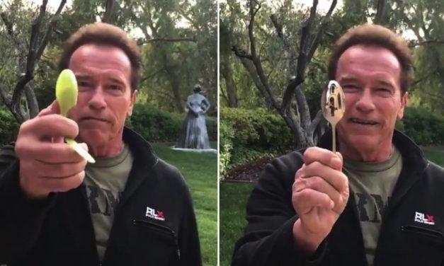 Csatlakozz Arnoldhoz, és felejtsd el a műanyagot