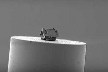 A világ legkisebb háza szabad szemmel nem látható