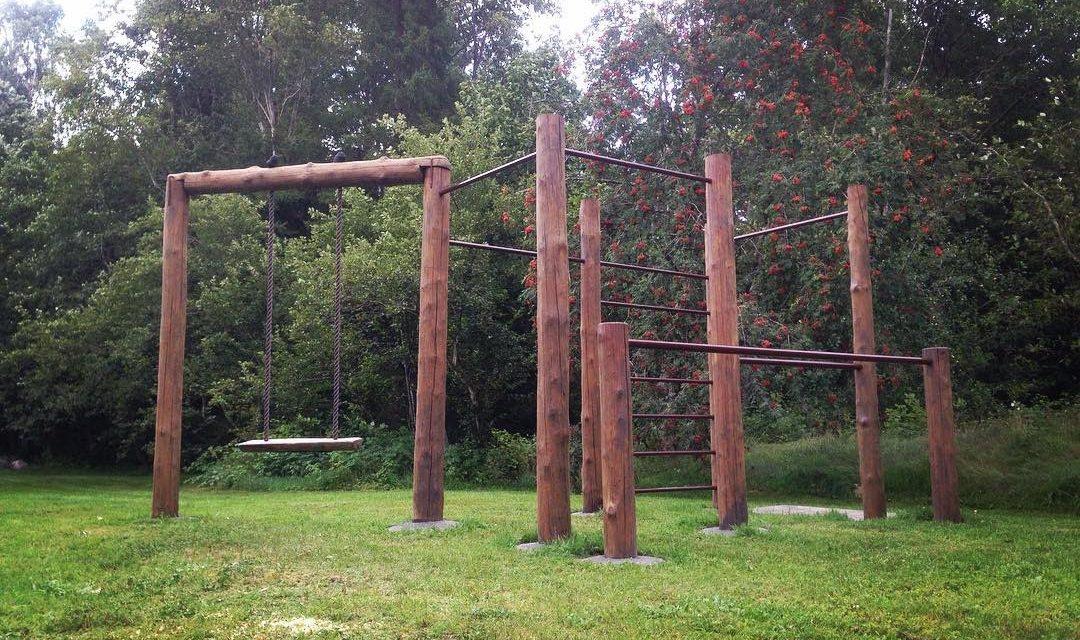 Szabadtéri edzőterem is épülhet a kert végébe
