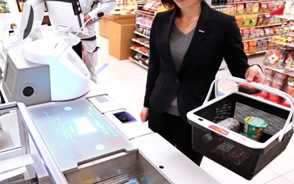 A japán bevásárlás okos, gyors és gyönyörű