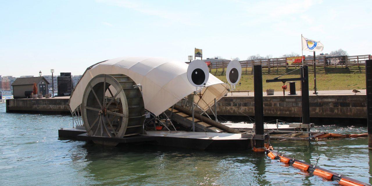 Mr. Trash Wheel, a szemétzabáló hajó az öböl sztárja