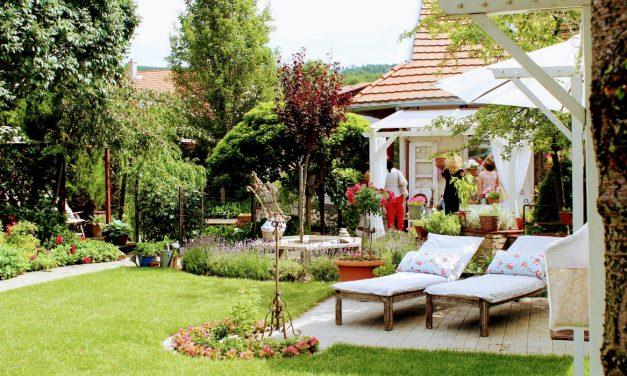 """A """"Modest Home & Garden"""" kertje – elegáns és otthonos"""