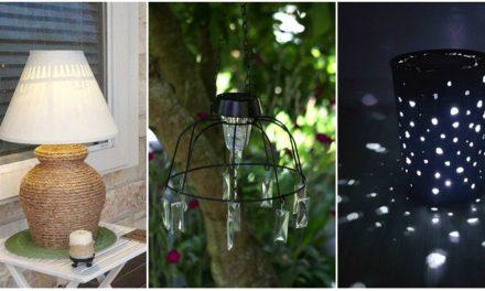 Készítsünk olcsó napelemből egyedi világítást a kertbe!