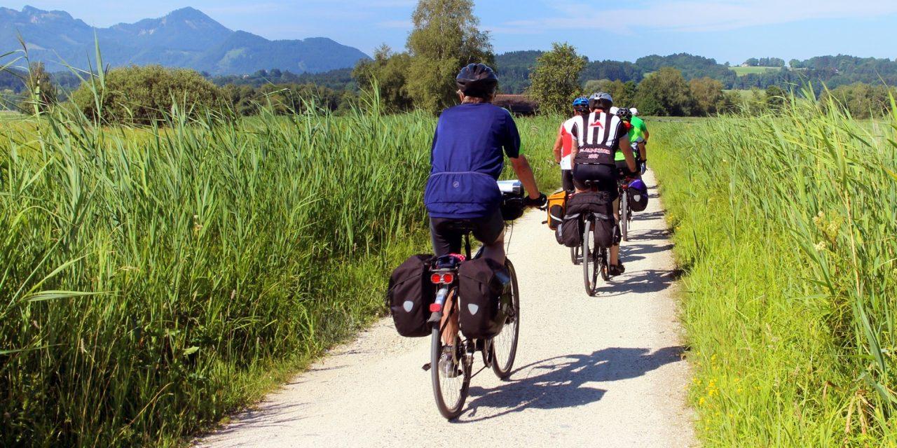 130 kilométernyi bicikliutat adtak át a Fertő tótól a Balatonig