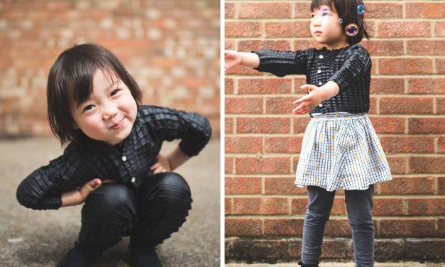 A ruha, ami együtt nő a gyerekkel