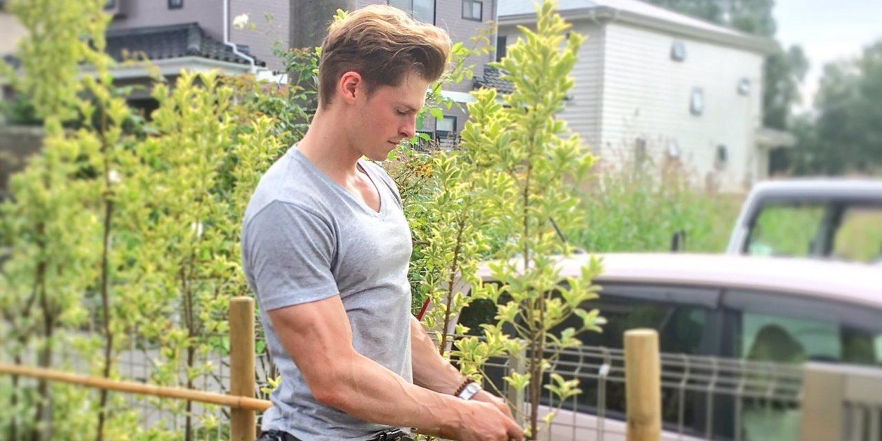 Japán új kedvence a svédből lett japán testépítő kertész
