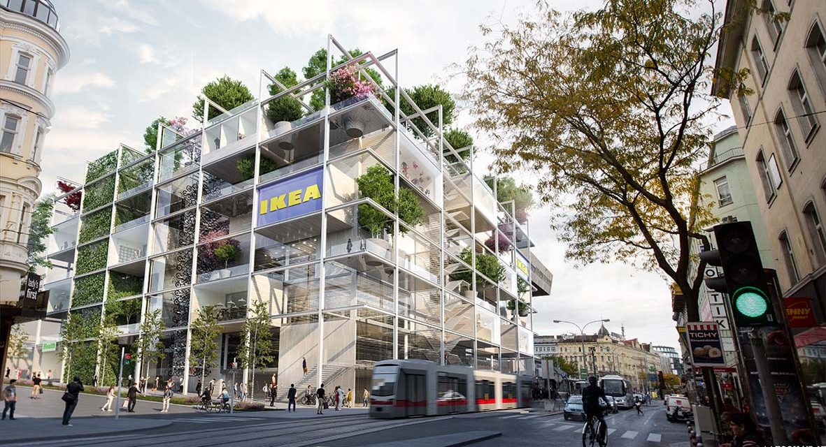 Teljesen zöld lesz az IKEA új bécsi áruháza