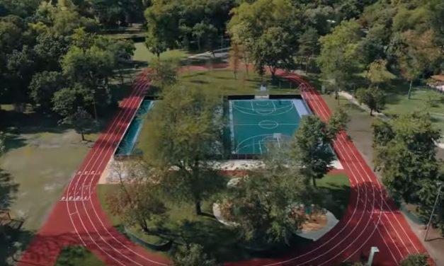 Átadták az új ifjúsági sportpályát a Városligetben