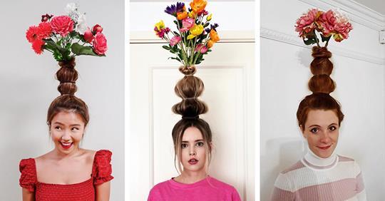 Egy szál virág, meg koszorú? Tűzz inkább egy egész vázányi virágot a hajadba!
