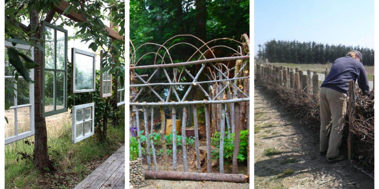 Kerti trükkök csóróknak: a kerítés