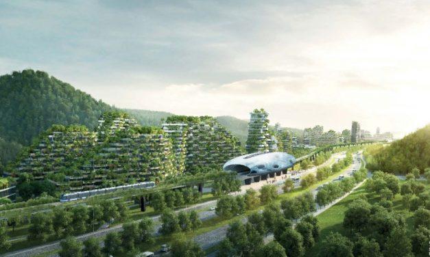 A jövő zöld városa egymillió növénnyel és 40.000 fával épül Kínában