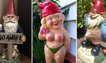 A kerti törpék perverz valósága