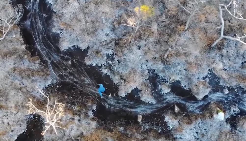 Korcsolyázás level egymillió: siklani a kanyargó patakon
