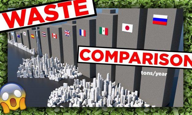 Megdöbbentő videón az országok szeméttermelése