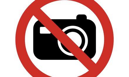 Nem tudsz fényképek nélkül élni? Akkor nem fog tetszeni a fotótilalom