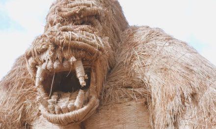 Ezektől a rizsszalma-szobroktól tátva marad a szád