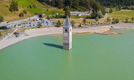 70 éve nem látott olasz falucska került ki a víz alól