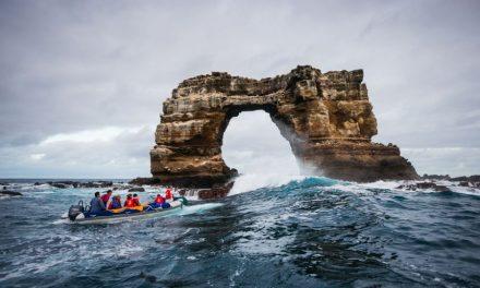 Összeomlott a természeti látványosságként ismert Darwin-boltív a Galápagos-szigeteken